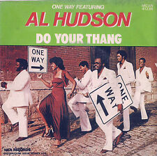 DISCO 45 Giri AL HUDSON - One way featuring Do your thing