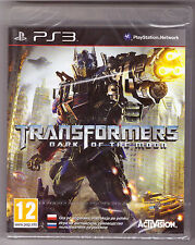 Transformers: Dark of the Moon [Playstation 3 PS3 Region Free Plays in English]