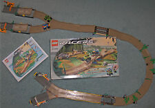 LEGO SET 4588 - OFF ROAD RACE TRACK & PULLBACK RACERS (RARE), Complete
