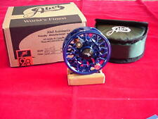 Abel Fly Reel New Sealed Disc Drag 5/6 Reel in BLUE GREAT NEW