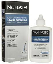 NuHair Extra Strength Hair Serum for Fine to Thinning Hair 3.1 oz NIB Nu Hair