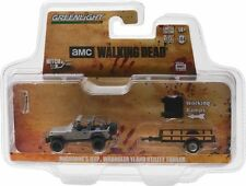 Greenlight Hitch & Tow 8 The Walking Dead Jeep and Utility Trailer PRE-SALE