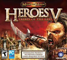 HEROES V 5 TRIBES OF THE EAST Might and Magic -US Version Windows XP,Vista,7 NEW