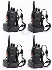 4*Walkie Talkie UHF 16CH 400-470MHz H500 5W Portable Two-Way Radio AU Stock
