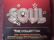 """SOUL The Collection"" 3CD Set 60 Definitive Hits Inc.Otis Redding,Ray Charles ++"