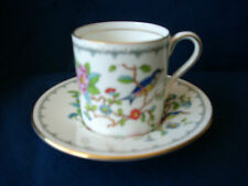 Aynsley Pembroke replacement coffee can & saucer (small rim flaw )