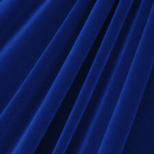 """STRETCH VELVET COSTUME / CRAFT DRESS FABRIC 12 COLORS 58"""" SOLD BY THE YARD"""