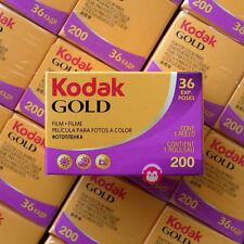 5 Rolls Kodak Gold 200 135 35mm Color Negative Film 36 exp. New FREE SHIPPING