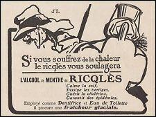 Publicité RICQLES Militaria WWI Soldat Guerre 14-18 vintage print ad  1914  - 5h