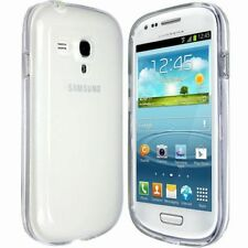 CLEAR TPU SOFT SILICONE BACK GEL CASE COVER FOR SAMSUNG S3 MINI i8190