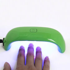 Green 9W Nail Art LED UV Lamp Light Dryer Nail Gel Curing Polish Machine #94