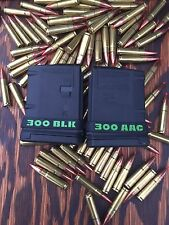 300 AAC BLK Magazine ID Marking Band 10 Pack Free Shipping 300 Blackout