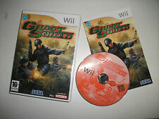 GHOST SQUAD NINTENDO WII, USED GOOD CONDITION16+