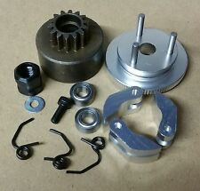 1/8 RC .21 Nitro Clutch Flywheel Kit 3 Shoe Silver