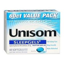 Unisom Sleep Gels - 60 ct  (3 PACK)