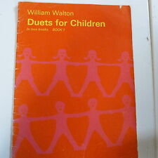 Piano Duet dúos para niños libro 1, William Walton