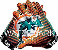 "Miami Dolphins 5.5""x6"" Auto Car Truck Van Window Or Wall Vinyl Sticker Decal"
