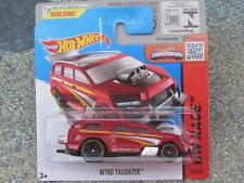 Hot Wheels 2015 #153/250 NITRO TAILGATER red-orange HW RACE Case P New Casting