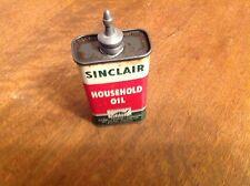 SINCLAIR OIL CAN TIN LEAD METAL SPOUT GREEN DINOSAUR