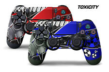 Dual Skin Sticker Wraps 2 Pack PS4 Playstation 4 Remote Controller Decals TOXIC