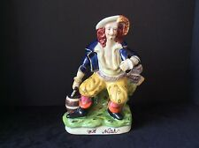 WILL WATCH STAFFORDSHIRE STYLE MALE FIGURINE STATUTE SCULPTURE PIRATE? REPRODUCT