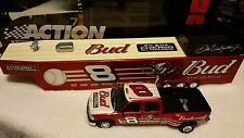 Dale Earnhardt Jr. Budweiser Truck, Trailor and Car 1:24 Diecast