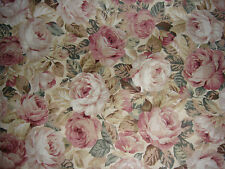 Rose & Hubble Rose chintz fabric 2 mts x 112cms approx brand new
