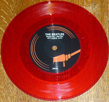 "* * RARE BEATLES UK-only RED VINYL 45 ""LET'S DANCE/YA YA"": ONLY 2000 PRESSED!"