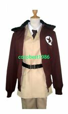 Hetalia Axis Powers America Cosplay Costume Overcoat Jacket Trousers Belt Shirt