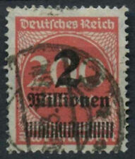 Germany SG#302a 2m On 200m Rose-Red Used #A85111
