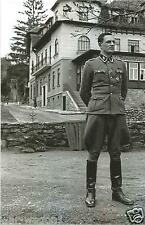WW II German Photo --     Rochus Misch - Führer  Body Guard