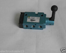 MAC SOLENOID HAND OPERATED VALVE   PART NO. 180001-1/2-0024