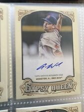 2014 Topps Gypsy Queen Autograph GQA-AW Allen Webster Boston Red Sox  Baseball