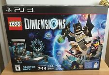 LEGO Dimensions: Starter Pack (Sony PlayStation 3, 2015) New Sealed Box PS3