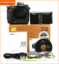 Nikon D3 Digital SLR Camera Body Charger & Battery + Free UK Post