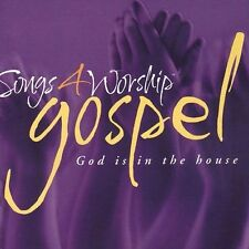 NEW! Time Life Songs 4 Worship - Gospel - God Is In The House 2-CD Set 2003