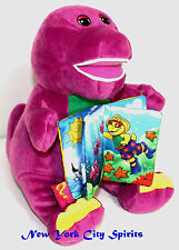 Educational Barney Plush Reading Stories 12""