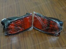 Pair Red Rear Fog Lights for Toyota Land Cruiser FJ120 02-09