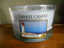 Yankee Candles Sea Harbour Rare Retired USA Exclusive Large 3 Wick 17oz