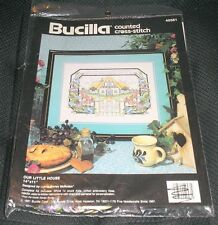 Bucilla Counted Cross Stitch Kit Our Little House Picture 40581 Home Personalize