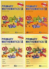 Singapore Primary Math Grade 1 Kit (US ED)-Workbook/Textbook 1A+1B-FREE EXPEDITE