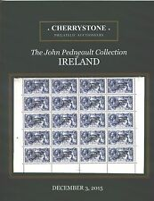 IRELAND STAMPS DECEMBER 2015 CHERRYSTONE AUCTION CATALOG BRAND NEW 88 PAGES