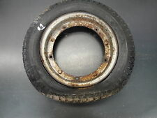62 1962 VESPA PIAGGO SCOOTER BIKE ENGINE BODY WHEEL TIRE 3.50-10 RIM #1