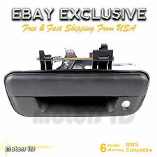 Smooth Black Tailgate Handle - For 2004-2012 GMC Canyon & Chevrolet Colorado