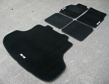 Car Mats- Mitsubishi Lancer Evolution 8 LHD (Evo VIII)+ RalliArt Logos+ Boot Mat