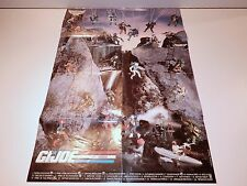 "VINTAGE GI JOE 1989 GI JOE MAIL OFFER ""STICKER POSTER"" 100% COMPLETE - HASBRO"