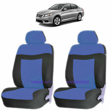 BLUE ELEGANCE AIRBAG COMPATIBLE LOWBACK SEAT COVERS SET for HONDA ACCORD CRV