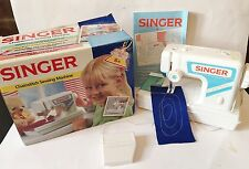 1991 Singer Children's Sewing Machine. Complete and Working. Boxed. Chain Stitch
