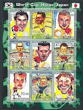 (051159) Soccer, Flag, Caricature, Kyrgyzstan - private issue -