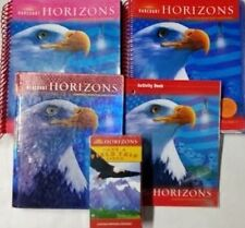 Grade 5 Harcourt Horizons Social Studies History Curriculum Homeschool 5th